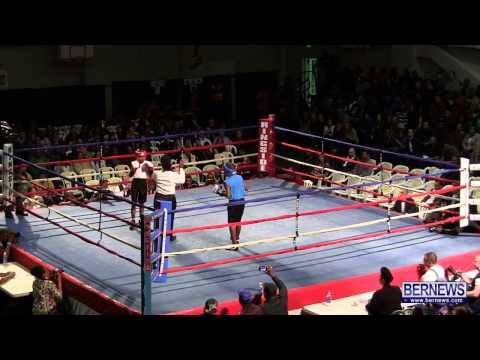 Le-Jai Tucker vs Andrew Haye At Fight Night 15, Feb 2 2013