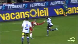 Mouscron-Peruwelz 0 - 2 Charleroi [8.11.2014 Highlights]