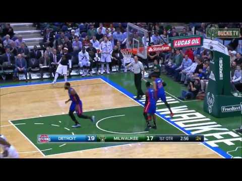 Greg Monroe Highlights vs Detroit Pistons 13/02/2017