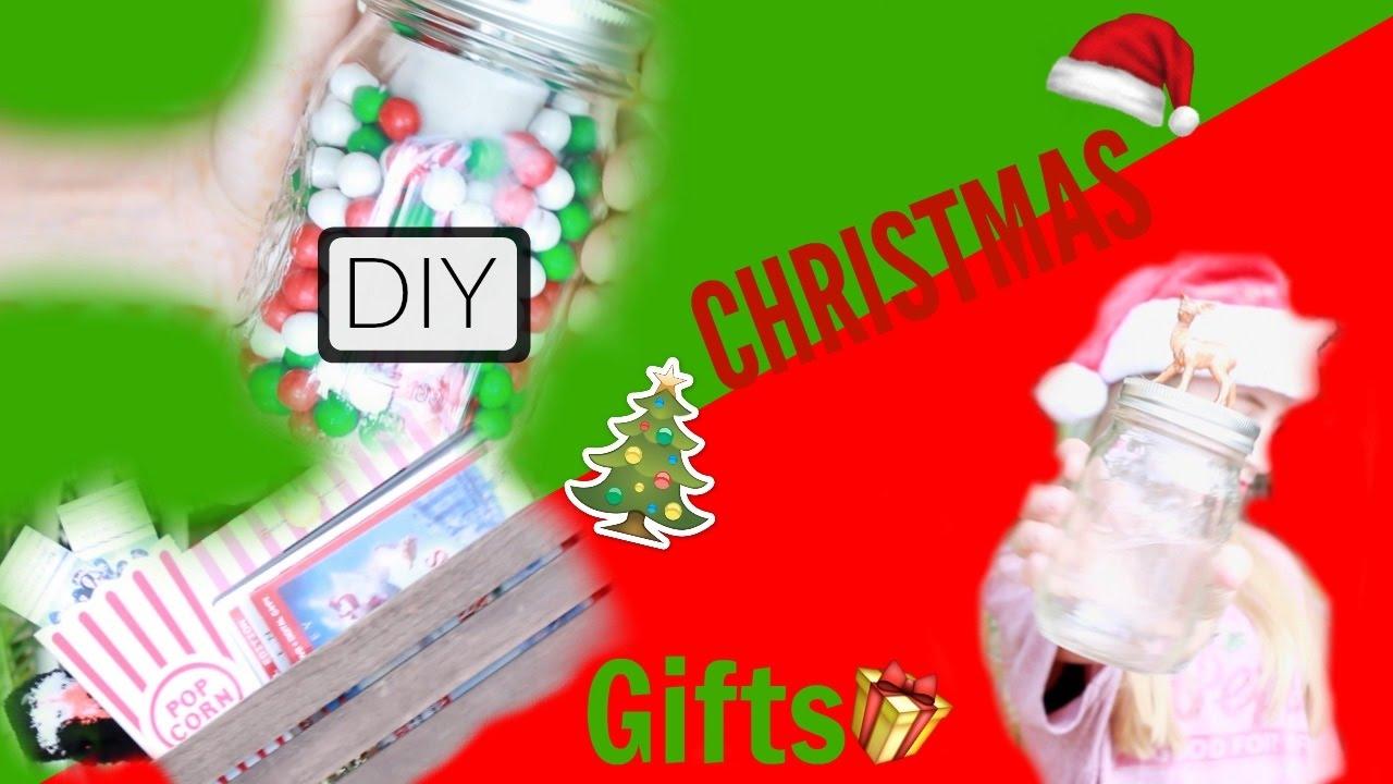 DIY Christmas Gift Ideas I Kaelyn Pannier - YouTube