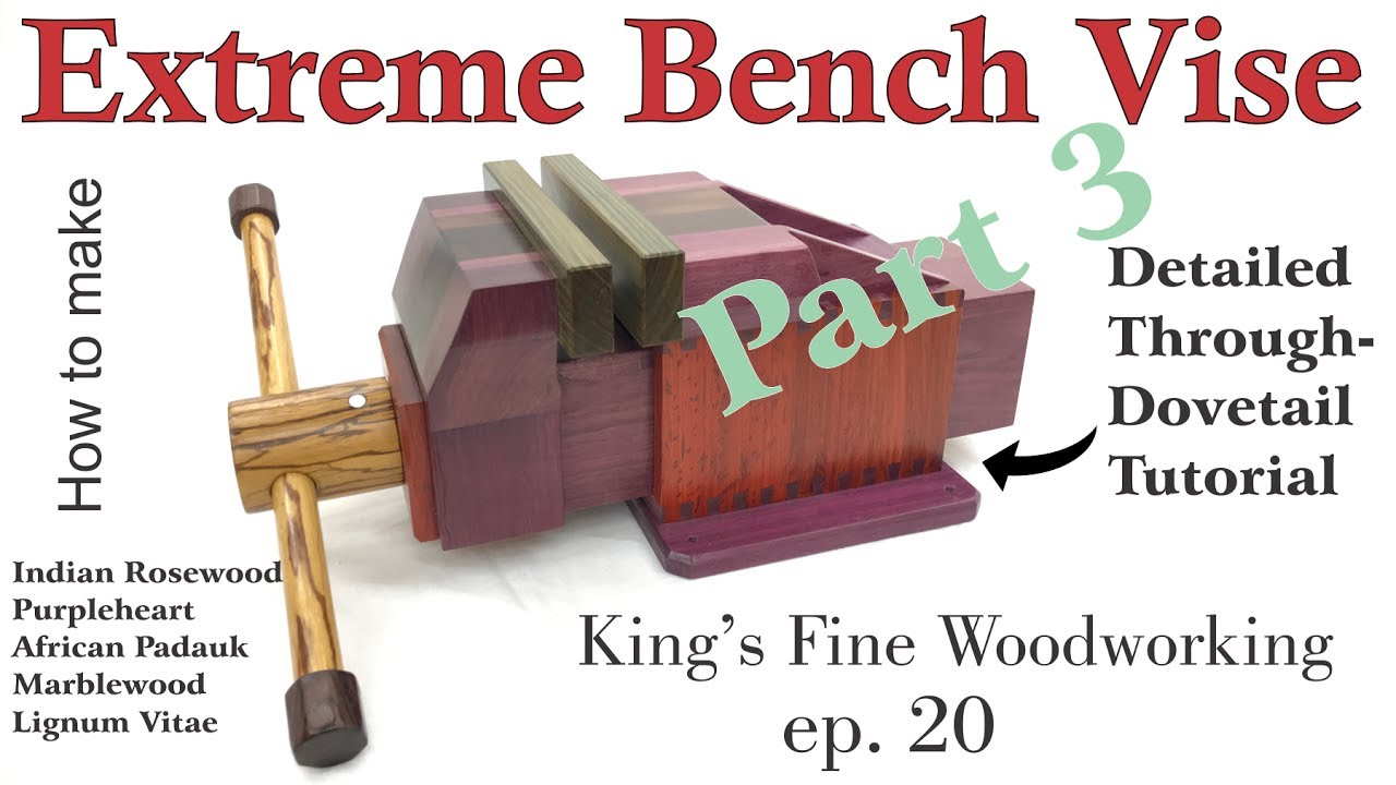 20 How To Make The Extreme Bench Vise Homemade All