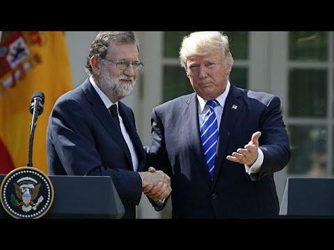 Rajoy wins Trump support over Catalonia
