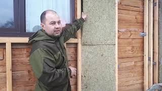 як зробити дерев'яну битовку