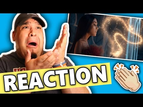 Ariana Grande & John Legend - Beauty And The Beast (Official Video) REACTION