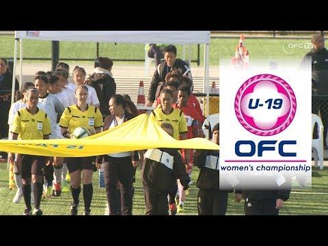 OFC U-19 WOMEN'S CHAMPIONSHIP | Papua New Guinea v Tonga Highlights