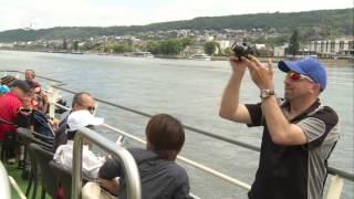 Am Rhein mit Neuseeländern | Hin & weg