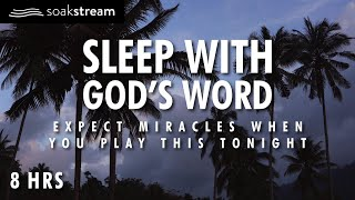 Expect Miracles When You Play These Scriptures All Night | 100+ Bible Verses For Sleep