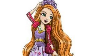 How to draw Holly OHair from Ever After High