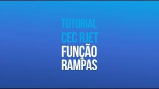 Tutorial RJET G1 - Configuração Função Rampa