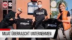 Mijat Gacinovic überrascht Frankfurter Unternehmen | In Eintracht helfen