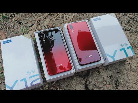 Vivo Y11 vs Vivo Y12 Unboxing & Comparison !! Which should you Buy ? Y12 vs Y11