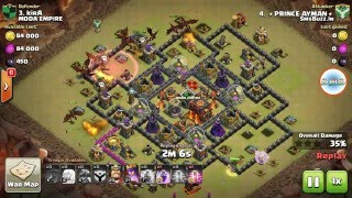 Clash Of Clans | Winning Last 47 Wars out of 50 and 3 star war attack replays