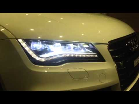 Audi A7 Full Led Headlamp Retrofit Youtube
