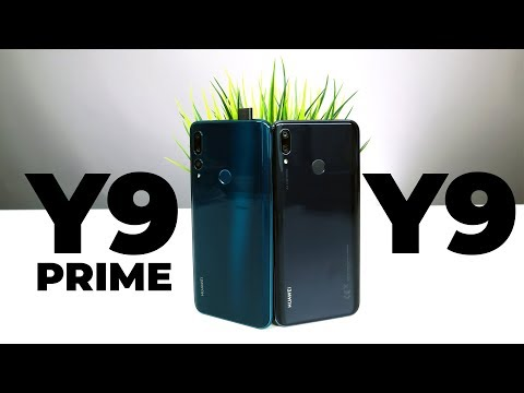 Обзор и сравнение Huawei Y9 Prime 2019 и Y9 2019
