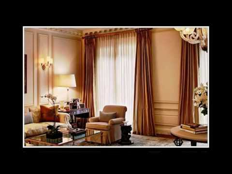 gardinen ideen wohnzimmer modern
