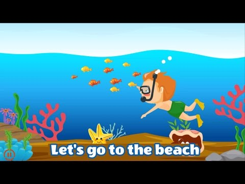 let 39 s go to the beach hd version learn sea animals kids song by dada tv dadatv youtube. Black Bedroom Furniture Sets. Home Design Ideas