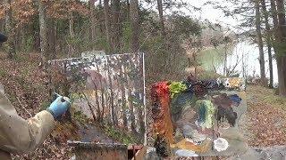 Kyle Buckland Beginner Plein Air Oil Painting Demonstration Art Lesson #7