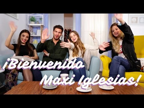 Maxi Iglesias visita a Inma Serrano, Vik Guirao y a Silvia Muñoz  BeautyFloox