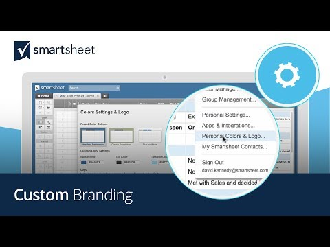 Custom Branding in Smartsheet
