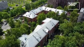 Коптеры «360» сняли дома-памятники, которые будут отреставрированы