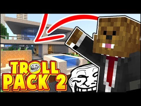 JEROME BUILT US A NEW HOUSE OR AM I GETTING TROLLED?? | TROLL PACK SEASON 2 #16 (Minecraft)