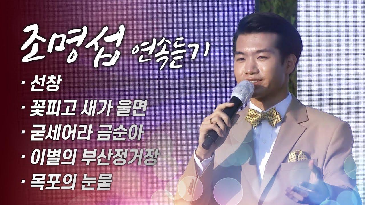 조명섭 5곡 연속듣기 #선창 #꽃피고새가울면 #굳세어라금순아 #이별의부산정거장 #목포의눈물