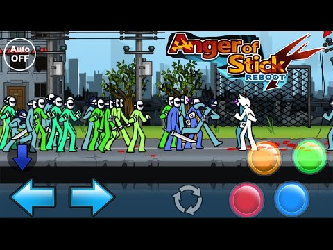 Anger Of Stick 4 Reboot - CRAZY GAME - HD [Android]