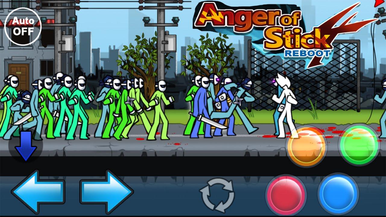 """IGenerateur """"Anger of Stick 4"""" mod"""