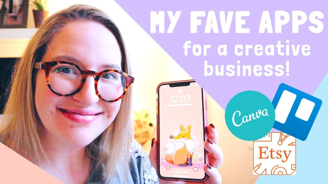 MY FAVOURITE APPS FOR MY CREATIVE BUSINESS | Finance, Photo Editing & Task Management!