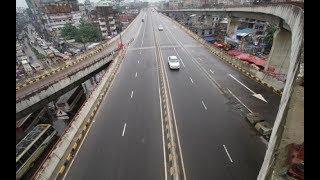 Traffic free Dhaka Bangladesh journey by Uber Taxi | Bestof Alamin