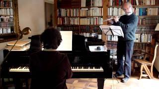 """Maurice Ravel: """" Pavane de la Belle au bois dormant"""" (flute & piano)"""