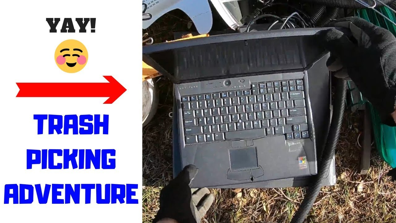 Trash Picking Treasures, PC\'s, Copper Wire, Scrap Adventures - YouTube