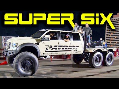 SUPER SIX - 6x6x6 MONSTER Diesel!! - YouTube