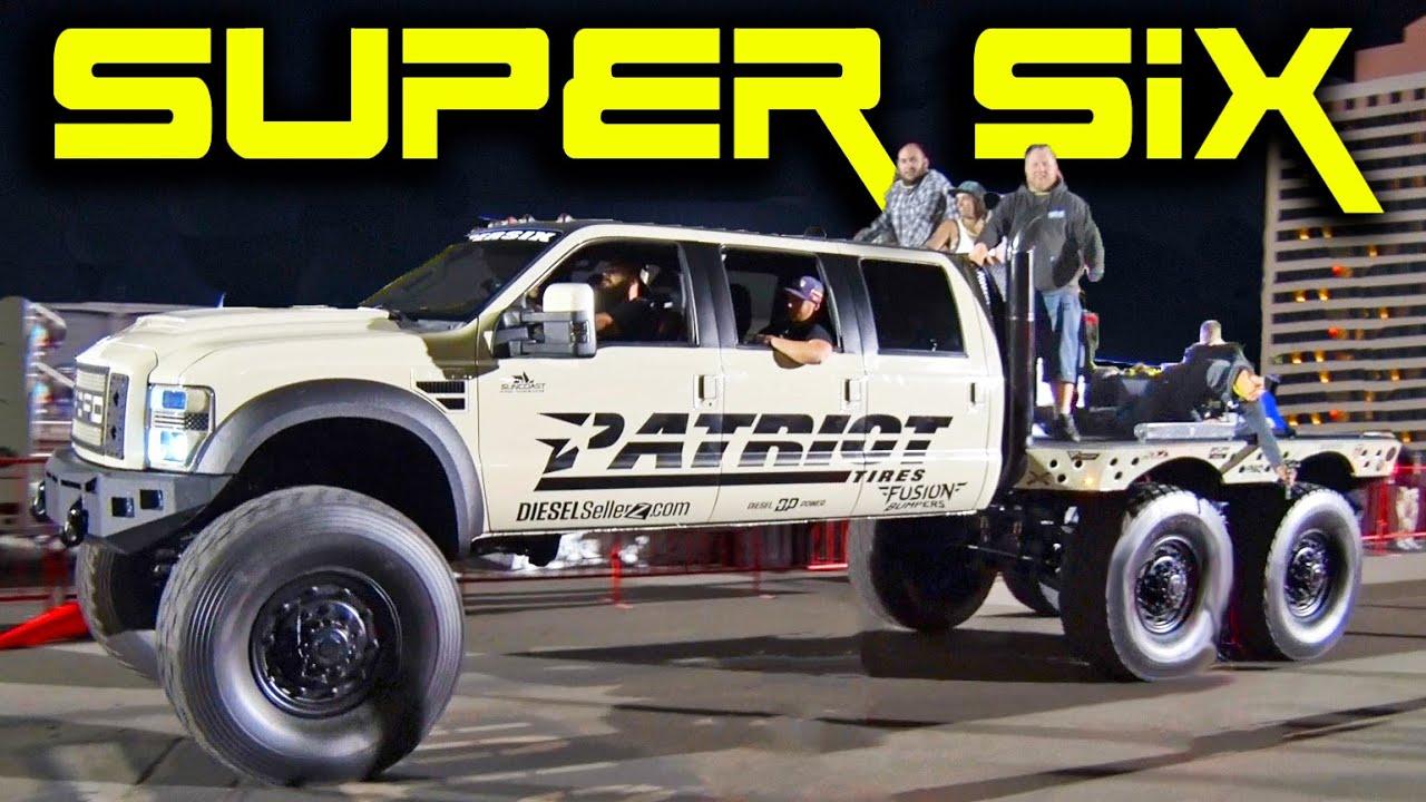 Max Power Cars Wallpaper Super Six 6x6x6 Monster Diesel Youtube