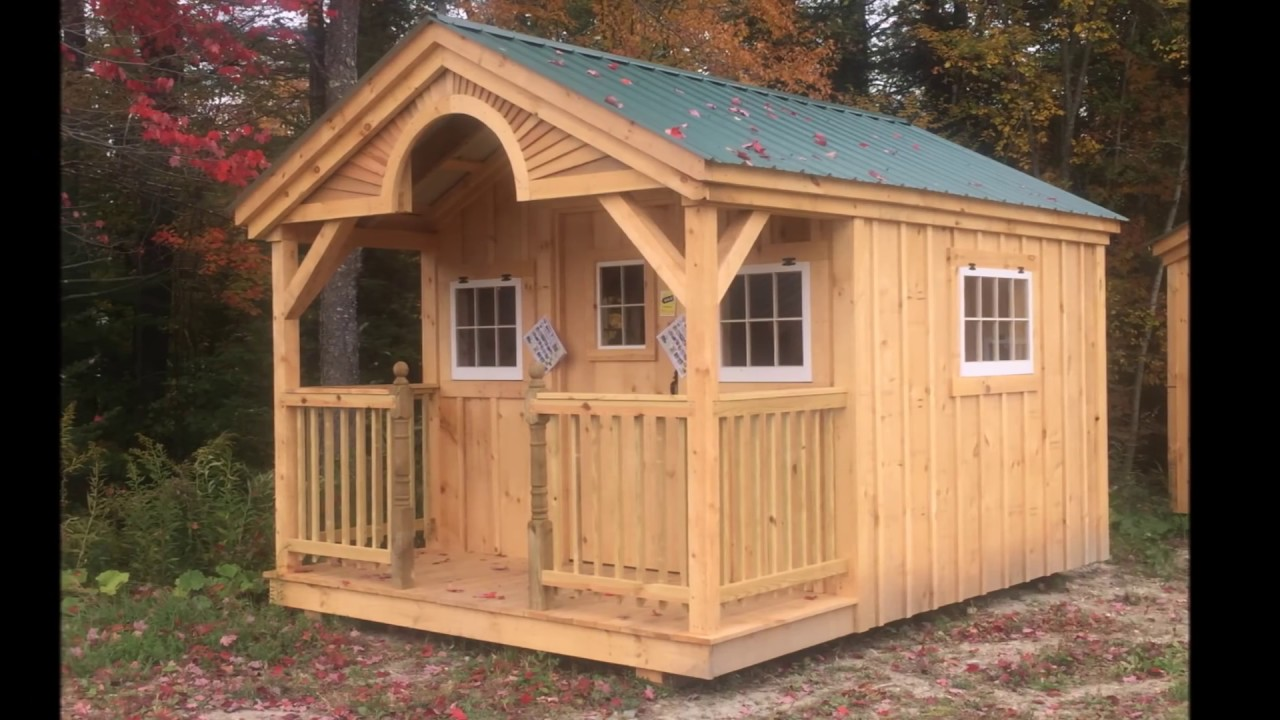 tiny house factory tour post beam vermont timber youtube. Black Bedroom Furniture Sets. Home Design Ideas