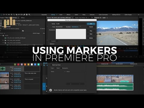 5 Ways to use Markers in Premiere Pro