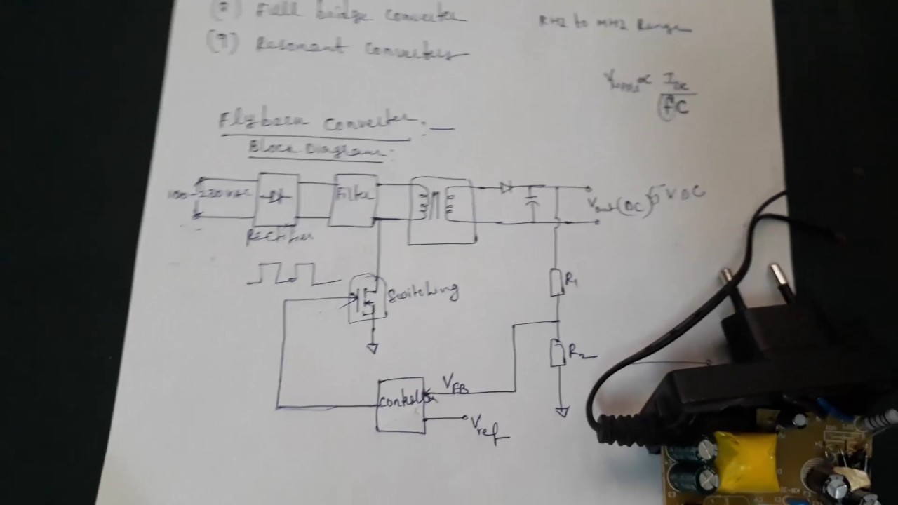 cell phone charger smps circuit:part1