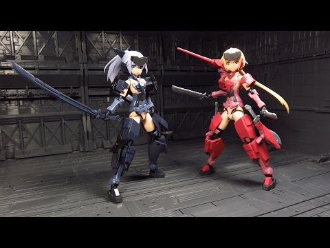 Frame Arms Girls: Jinrai Indigo Ver. Review
