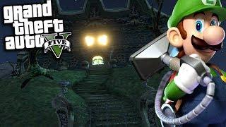 GTA 5 Mods - LUIGIS MANSION MOD w/ MARIO & LUIGI (GTA 5 PC Mods Gameplay)