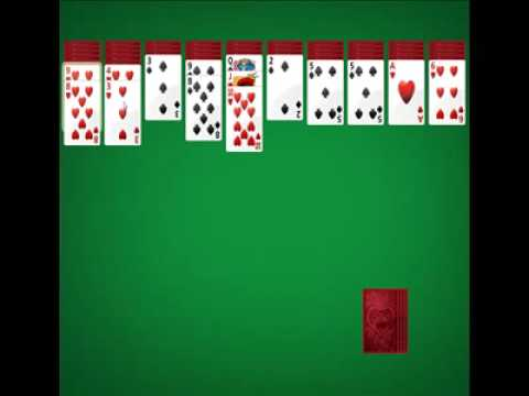 how to play spider solitaire youtube