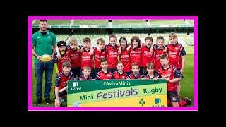 Breaking News | Aviva Stadium Hosts National Aviva Mini Rugby Festival