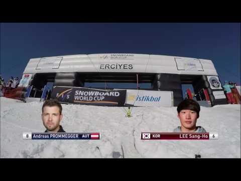 Snowboard Dünya Kupası Erciyes Erkekler Final Etabı(05.03.2017)