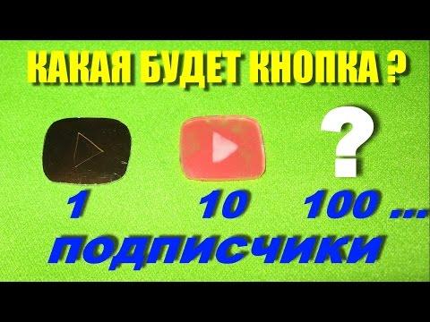 Награды от YouTube и делаем свои ютуб-кнопки