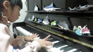 KARIN、7歳、リチャードクレイダーマン、子供、ピアノ、