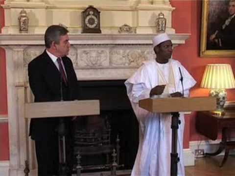Download The PM and President Yar'Adua of Nigeria