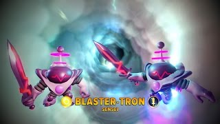 Skylanders Imaginators _ Glitch _ Two Blaster-Trons???!!! (credit: GOWBuuzer)