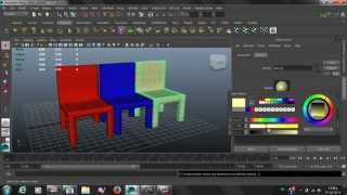 MAYA AUTODESK DESIGN CHAIRS