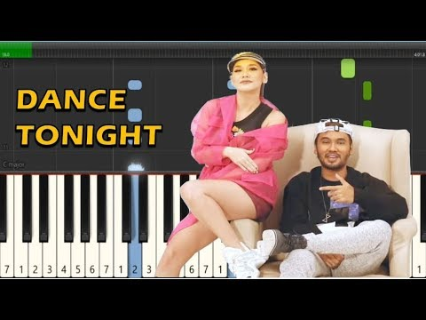 BCL Feat. JFlow - Dance Tonight (Piano Tutorial)