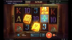 Book Of Gold Double Chance Bonus Feature (BIG WIN)