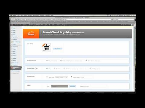 Soundcloud is Gold - WordPress Plugin